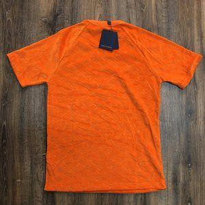 Louis Vuitton Men Monogram Orange T-Shirt